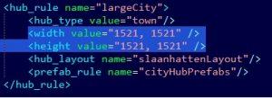 hub-size-code